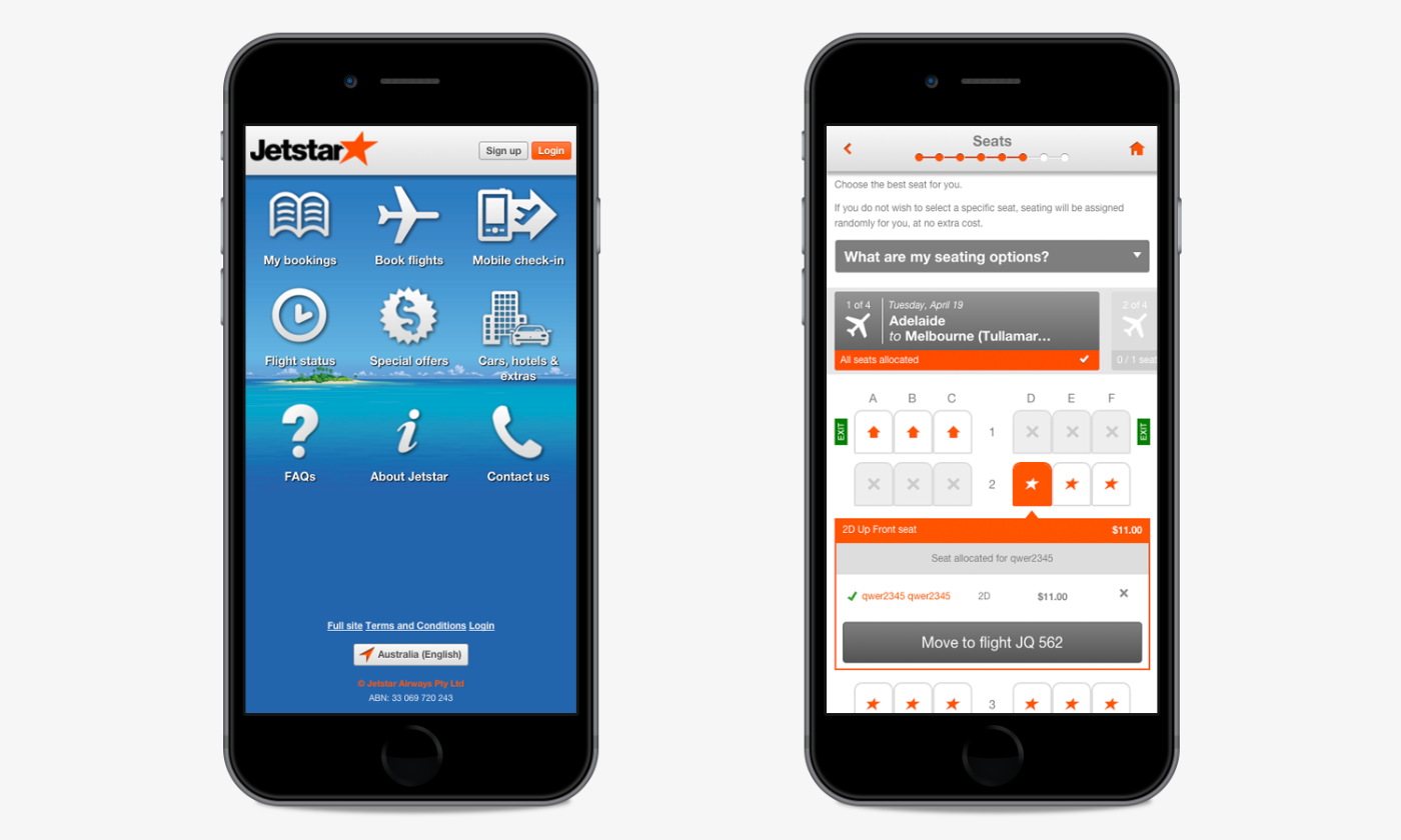 JetStar screenshot